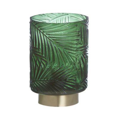 Lampara Led Verde-Oro