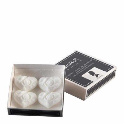 caja de 4 decoraciones perfumadas para fundir