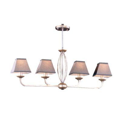 lampara de techo mariner gris