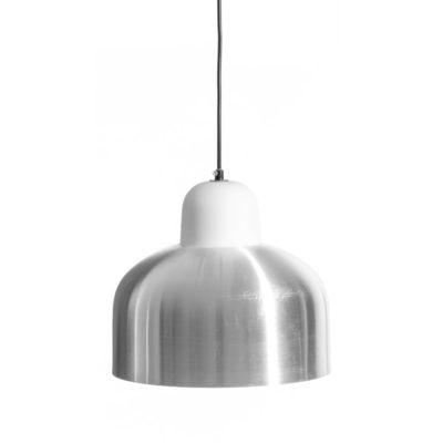 lampara de techo en plata mate