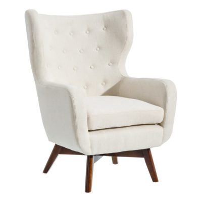 sillon en color crema