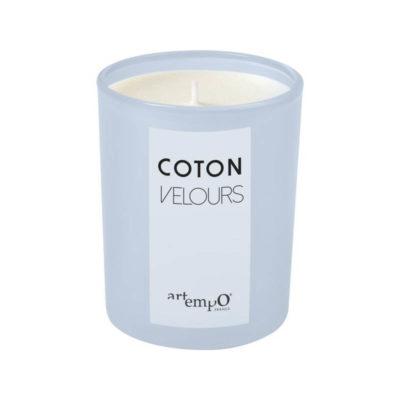 vela perfumada coton velours