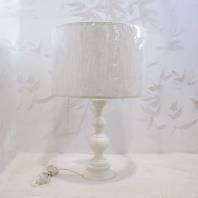 lampara sobremesa luz marfil